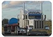 hiebtrans logistics LLC truck flat deck